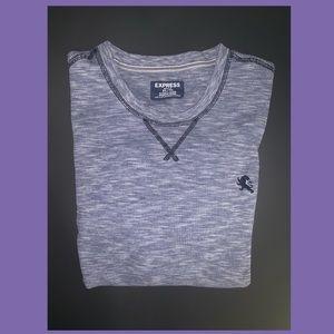 Express Waffle Print Shirt